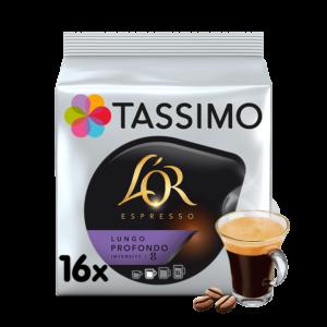 CAPSULA CAFE TASSIMO L´OR LUNGO PROFONDO