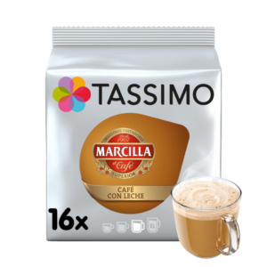 CAPSULA CAFE TASSIMO MARCILLA CAFE CON LECHE