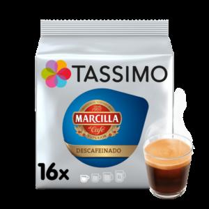 CAPSULA CAFE TASSIMO MARCILLA EXPRESO DESCAFEINADO